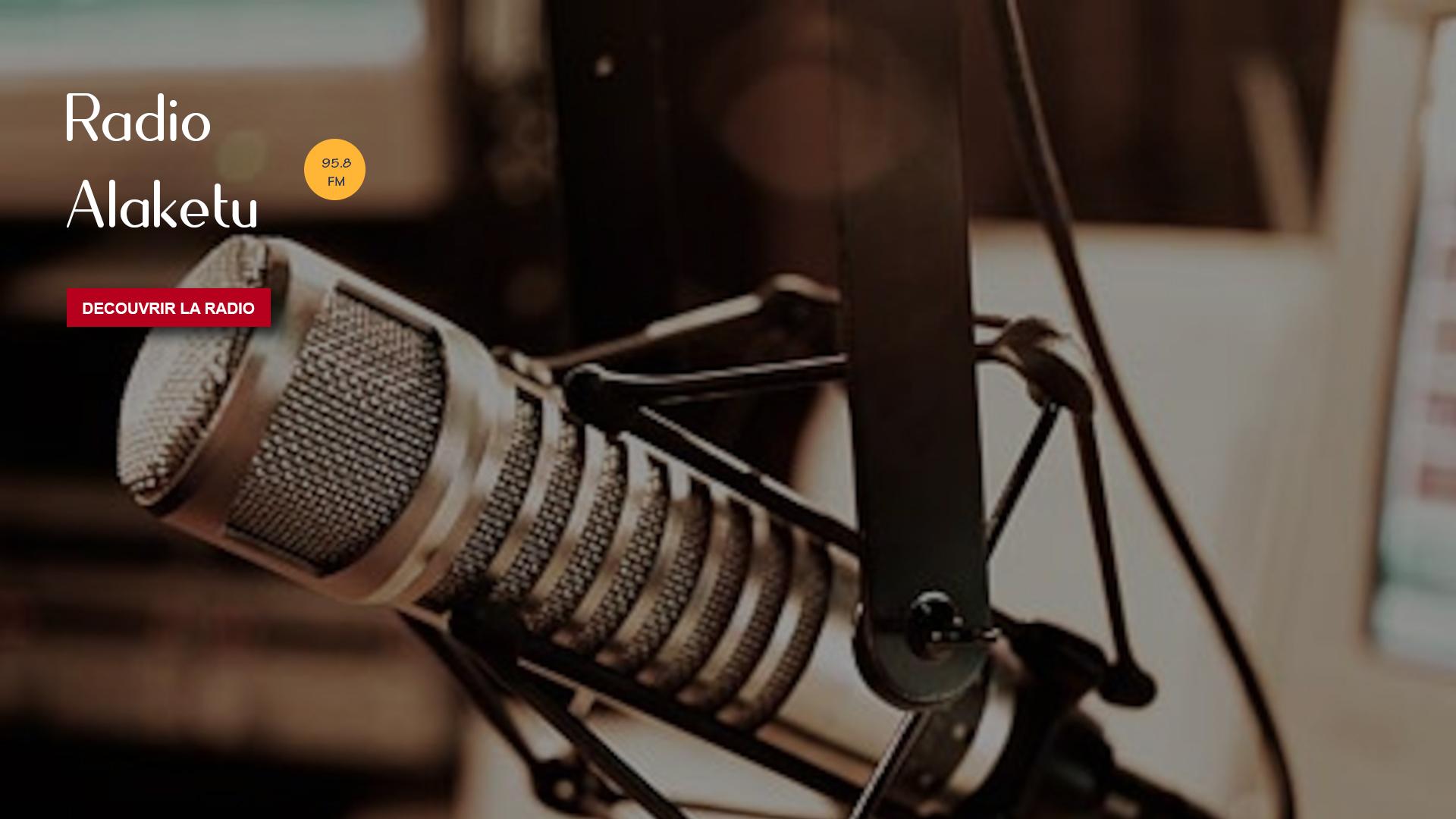 Bienvenue sur le portail de Radio Alaketu