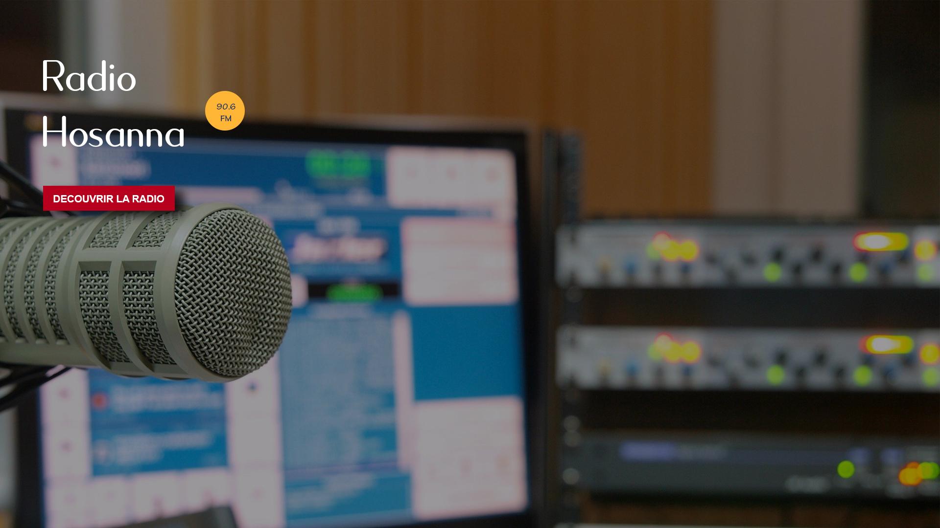Bienvenue sur le portail de Radio Hosanna