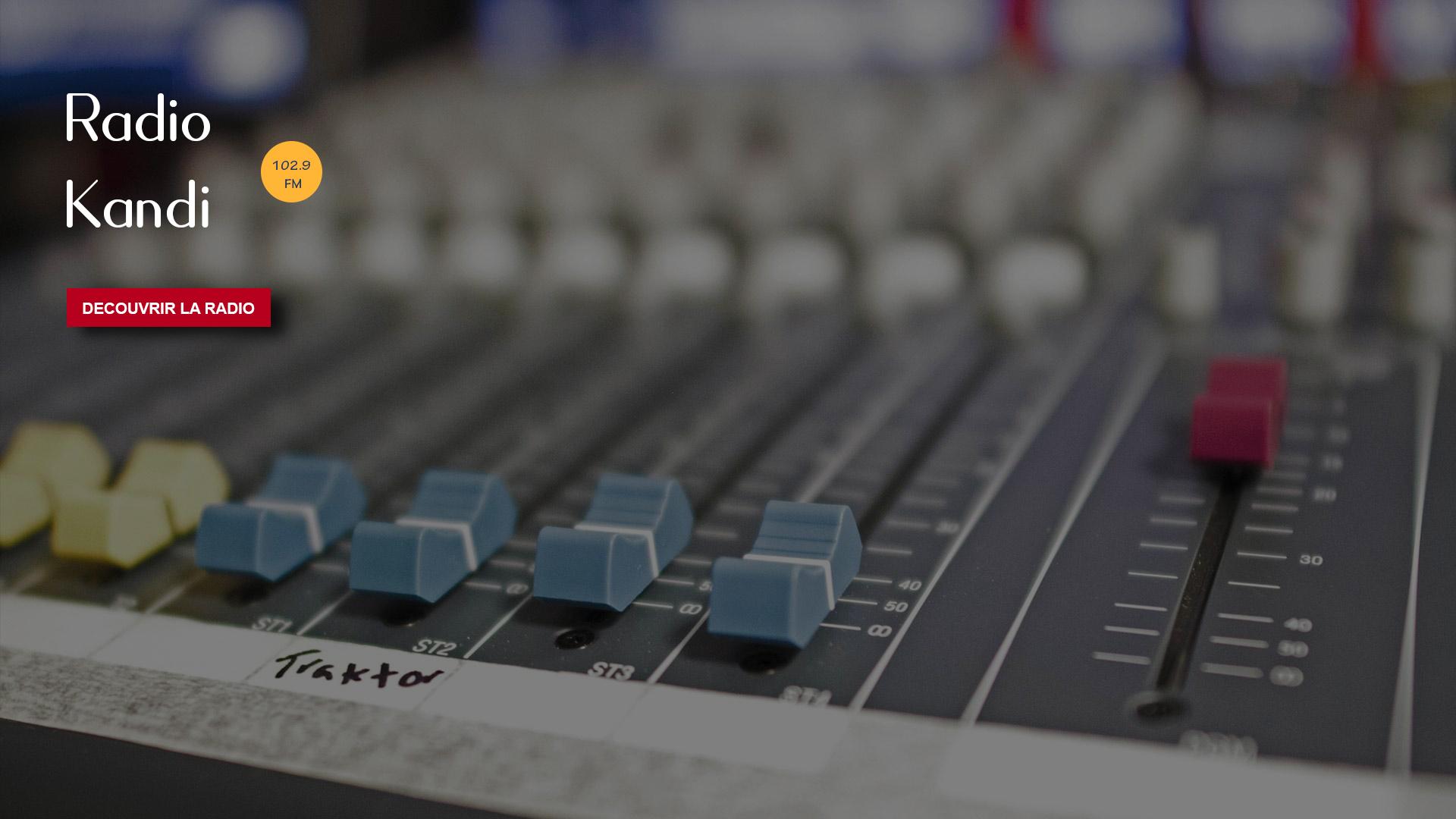 Bienvenue sur le portail de Radio Kandi