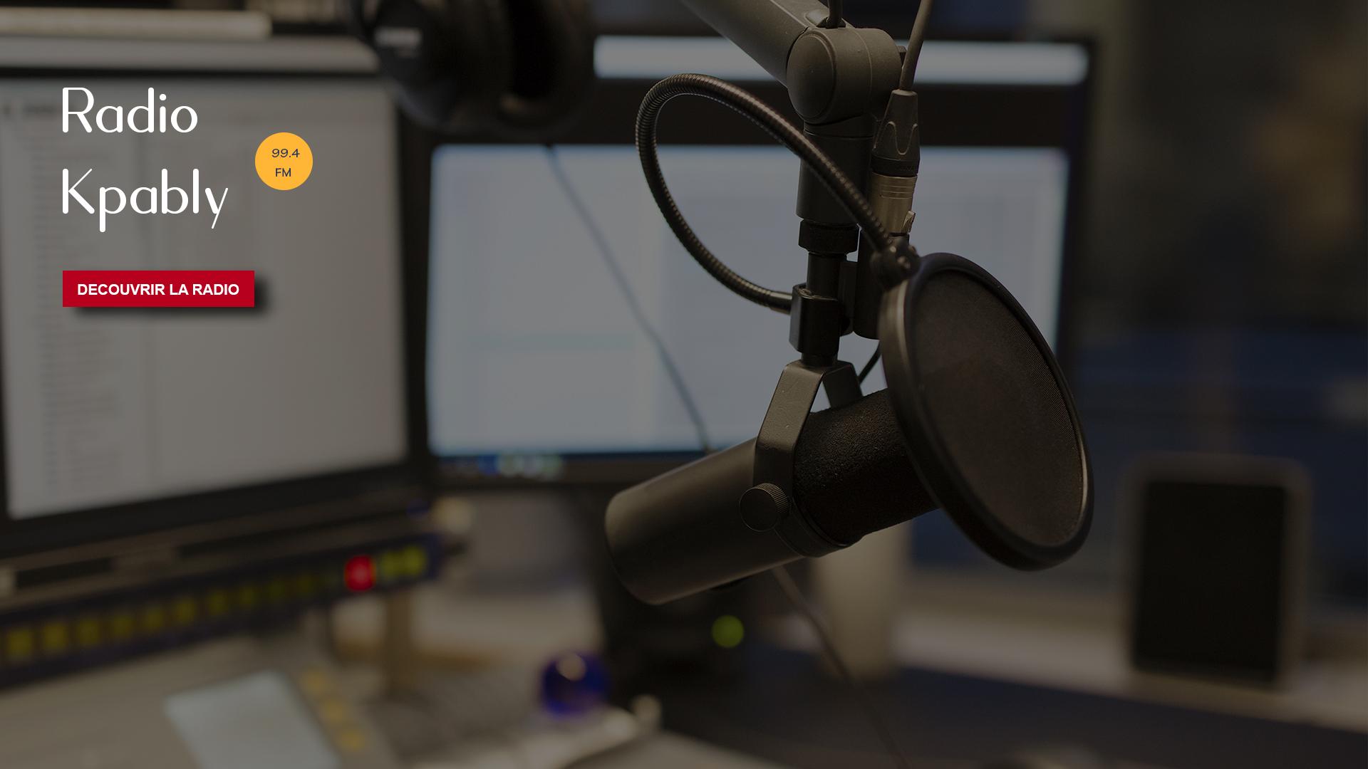 Bienvenue sur le portail de Radio Kpably