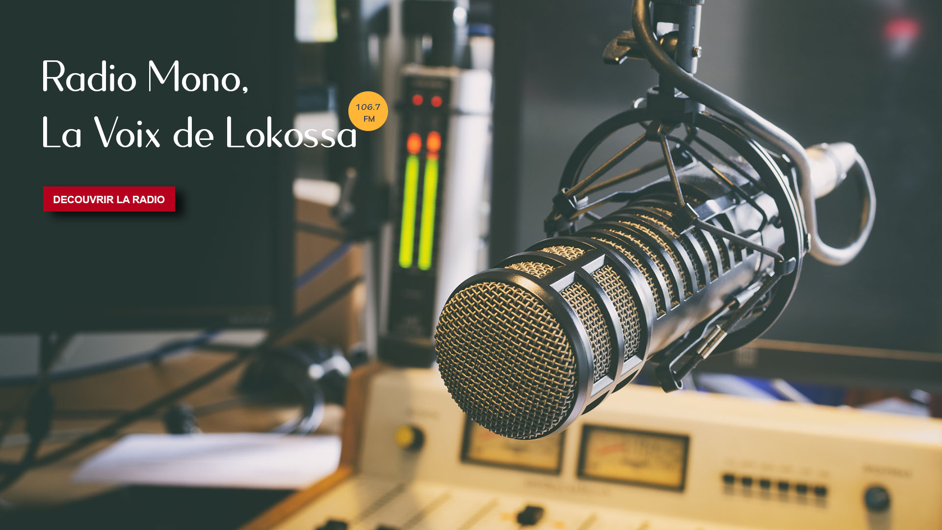 Bienvenue sur le portail de Radio Mono, la voix de Lokossa