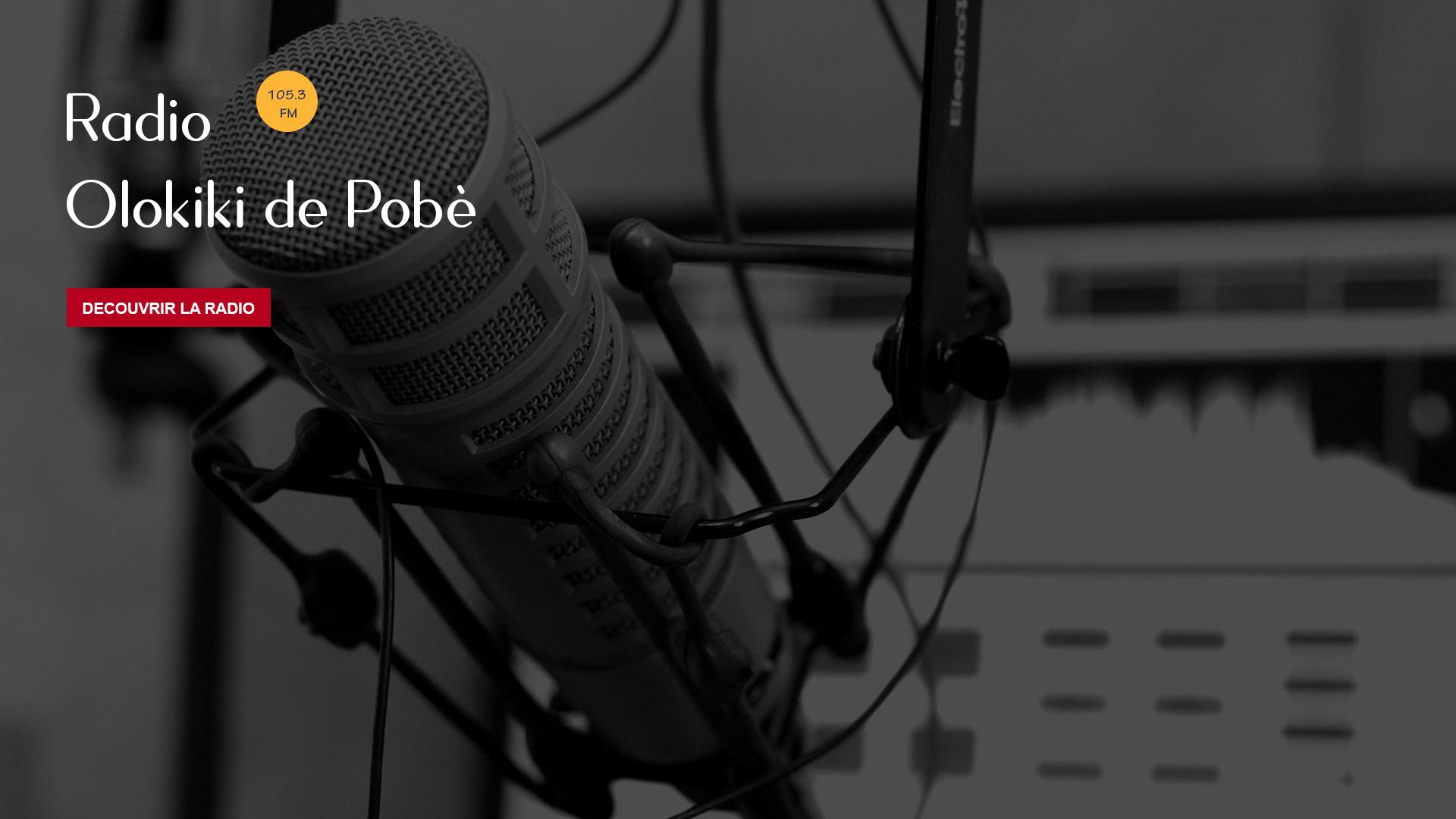 Bienvenue sur le portail de Radio Olokiki