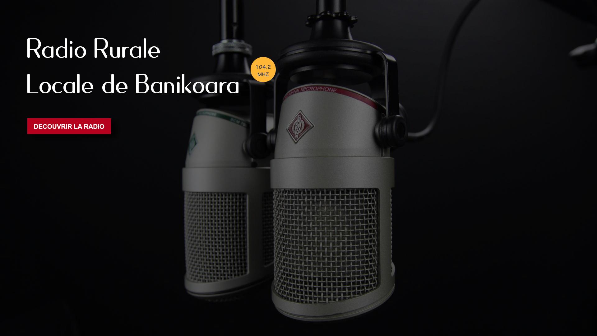 Bienvenue sur le portail de Radio Rurale Locale de Banikoara
