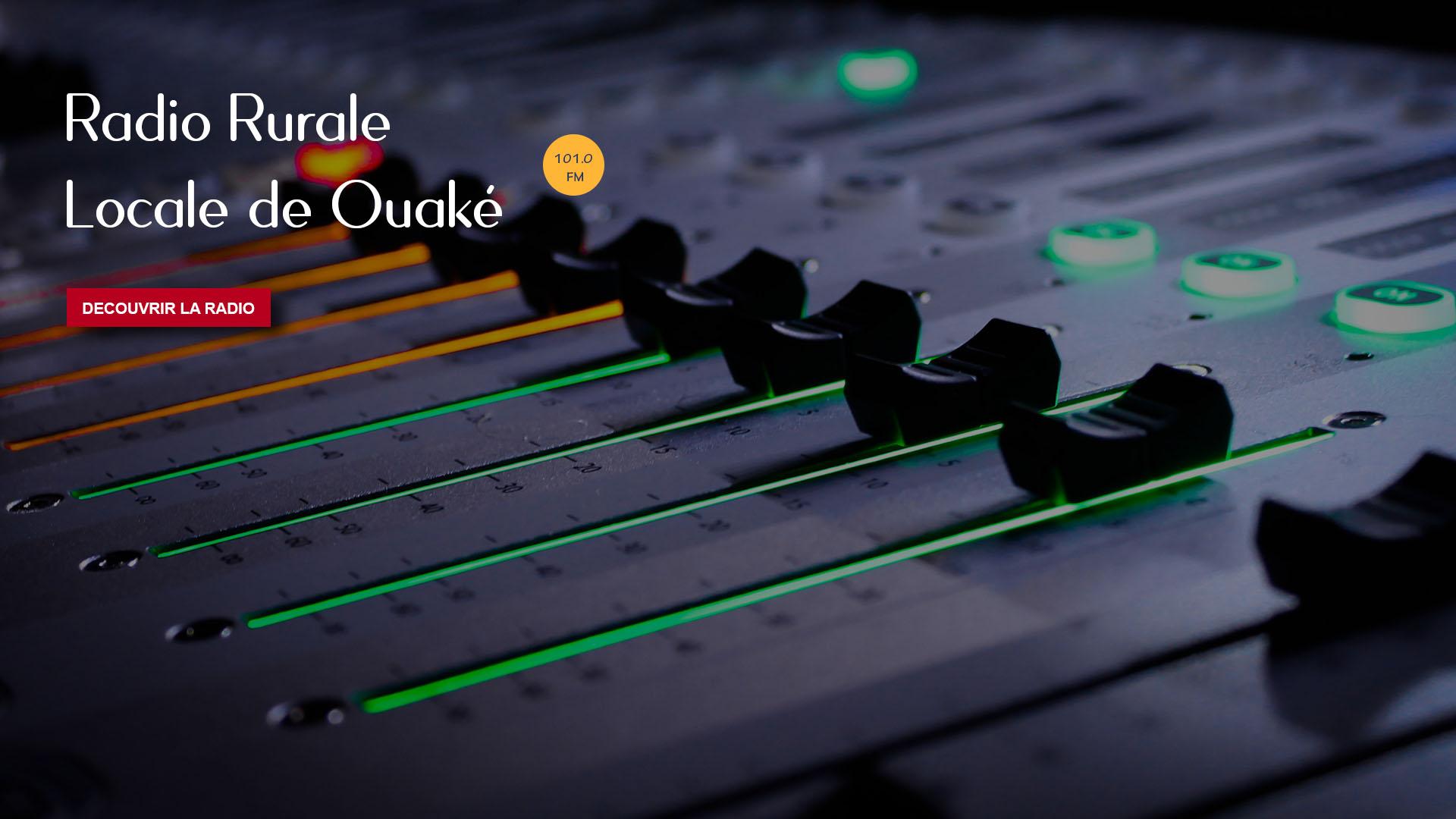 Bienvenue sur le portail de Radio Rurale Locale de Ouaké