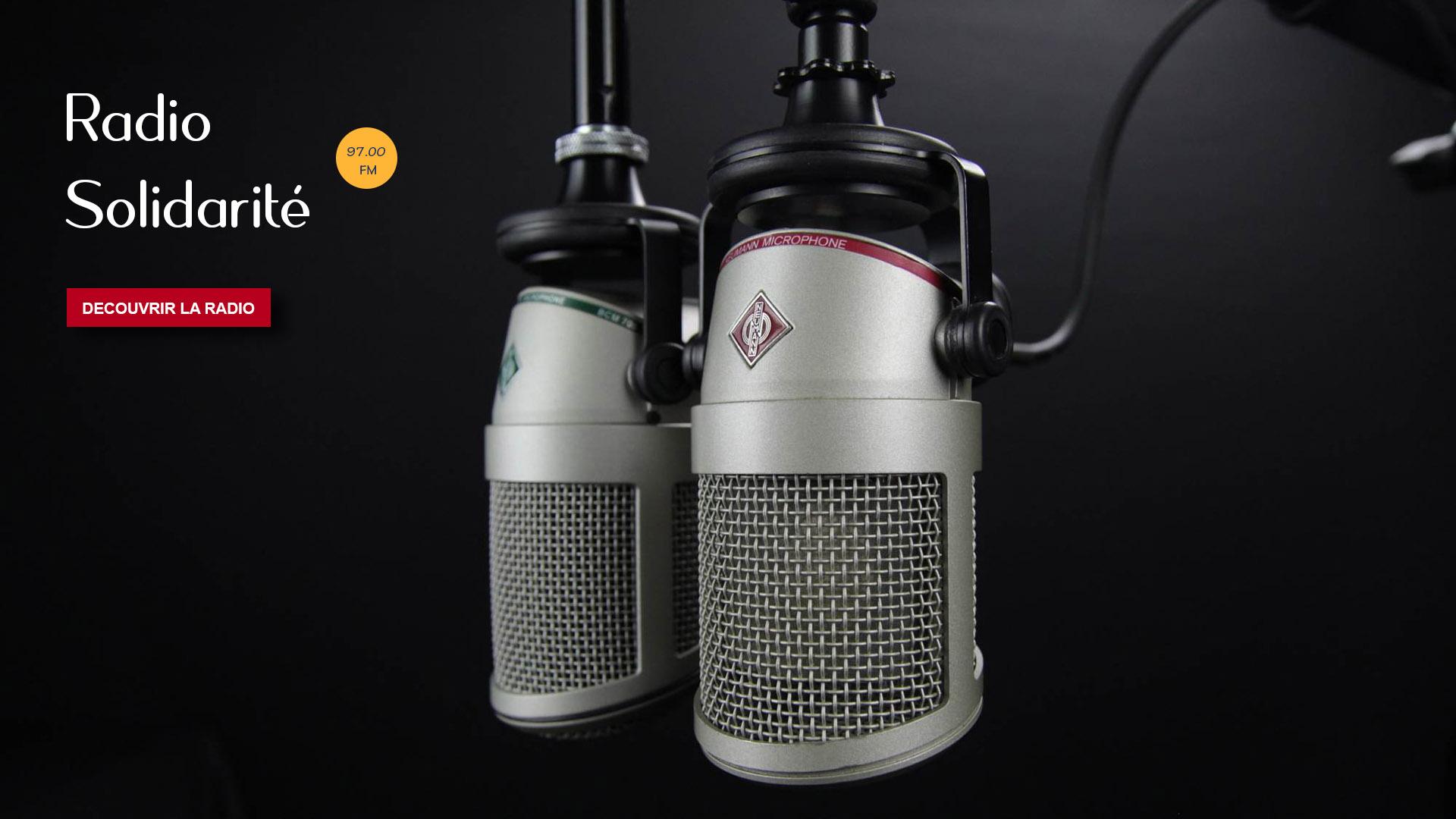 Bienvenue sur le portail de Radio Solidarité