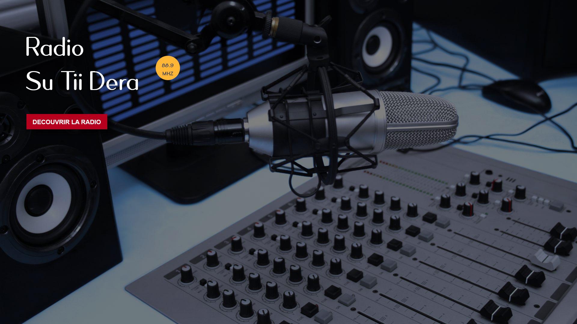 Bienvenue sur le portail de Radio Su Tii Dera